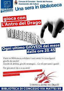 L'Antro del Drago @ Biblioteca di Concesio | Concesio | Lombardia | Italia
