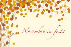 """Novembre """"festaiolo""""!"""