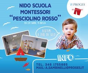 Pesciolino Rosso nidoscuola Montessori