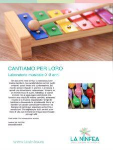 Cantiamo per loro 0-3 anni @ Cetro La Ninfea | Lonato | Lombardia | Italia