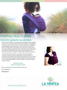 Portali sul cuore. Incontro su fasce e marsupi porta bebè @ Centro La Ninfea | Lonato | Lombardia | Italia