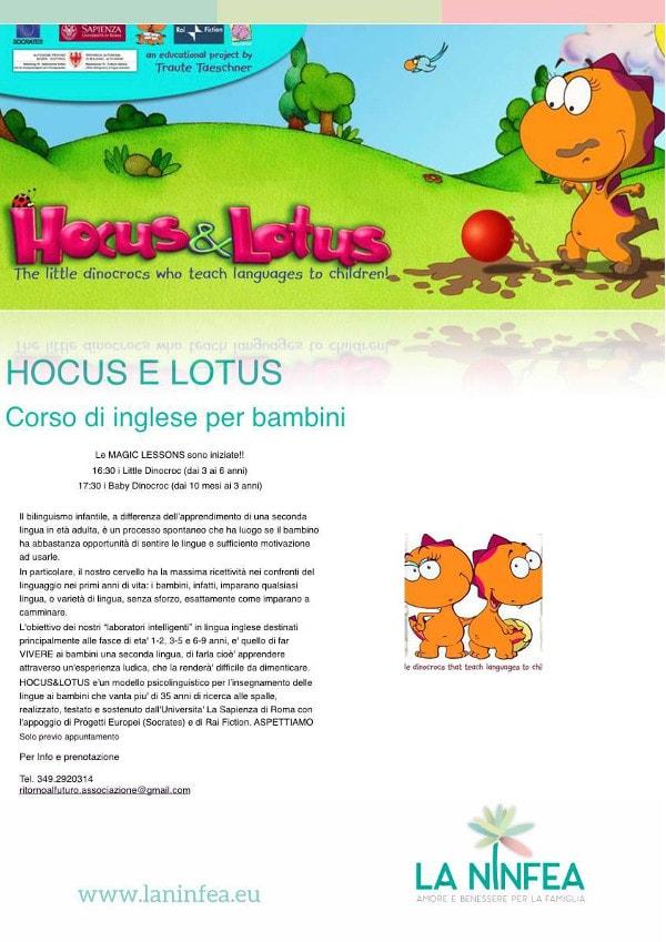 HOCUS E LOTUS bilingui per gioco si puo' @ Centro La Ninfea | Lonato | Lombardia | Italia