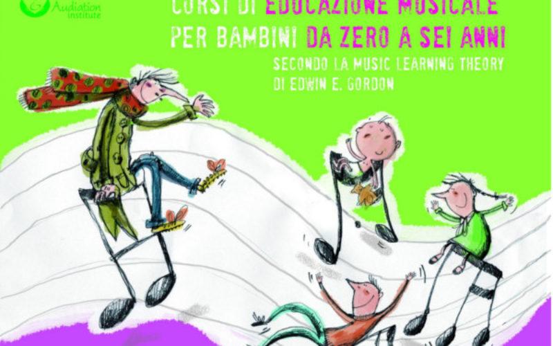 Corsi di Educazione Musicale per bambini da 0 a 6 anni