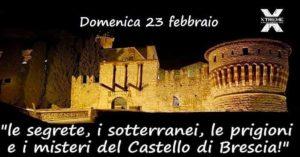 Visita ai sotterranei e prigioni del Castello @ ritrovo bar Chalet - Castello di Brescia | Brescia | Lombardia | Italia