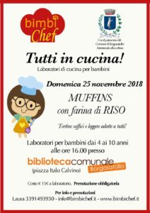 Tutti in cucina! @ Biblioteca Borgosatollo | San Zeno Naviglio | Lombardia | Italia