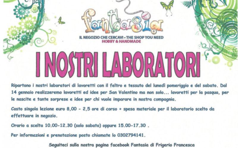 Ben noto Laboratori feltro per mamme e bambini | Bresciabimbi DP94