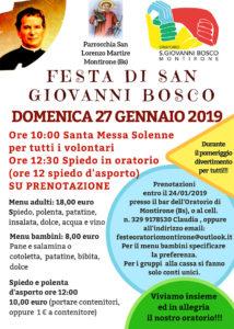 Festa di S. Giovanni Bosco a Montirone @ Teatro Sicomoro | Montirone | Lombardia | Italia