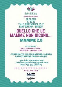 Quello che le mamme non dicono... @ Take it Easy   Brescia   Lombardia   Italia