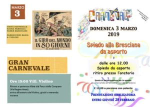 Sfilata in maschera @ Villaggio Violino e Badia | Brescia | Lombardia | Italia