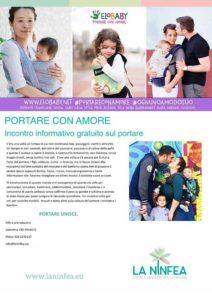 Portare con amore. Incontro informativo gratuito sul portare @ La Ninfea | Lonato | Lombardia | Italia