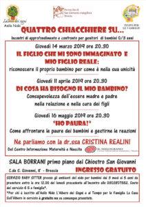 Quattro chiacchiere su... @ asilo nido L'Albero dei Sogni | Brescia | Lombardia | Italia