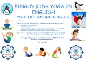 Yoga in English con Pingu @ Pingu's English Iseo | Iseo | Italia
