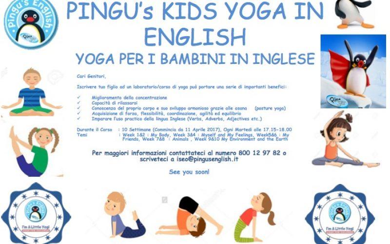 Yoga in English con Pingu
