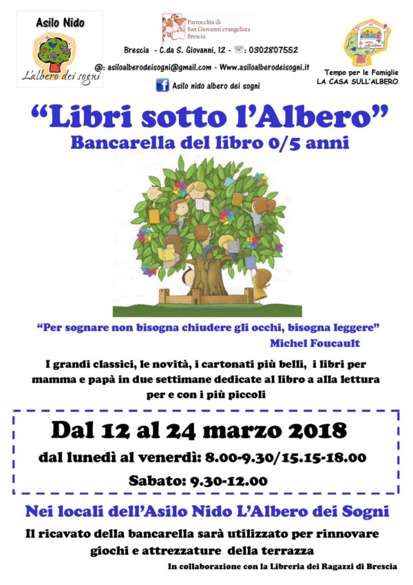 Libri sotto l'Albero @ Asilo nido L'albero dei sogni | Brescia | Lombardia | Italia