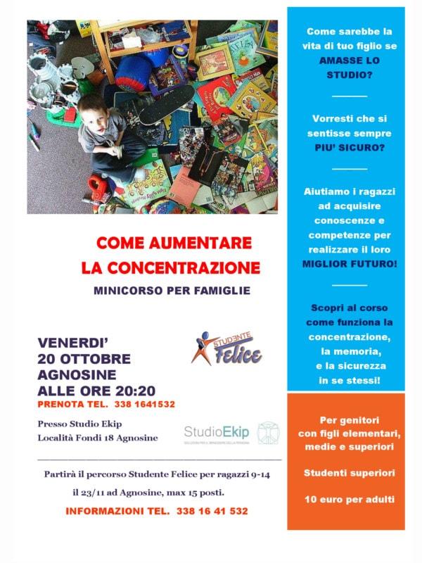 Come aumentare al concentrazione @ Agnosine Studio Ekip | Agnosine | Italia