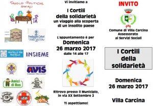 Cortili della solidarietà @ Villa Carcina | Lombardia | Italia