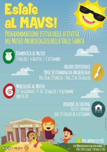 Estate al MAVS @ Museo Archeologico Valle Sabbia | Gavardo | Lombardia | Italia