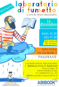 Laboratorio fumetto @ Sala civica Passirano | Marone | Lombardia | Italia