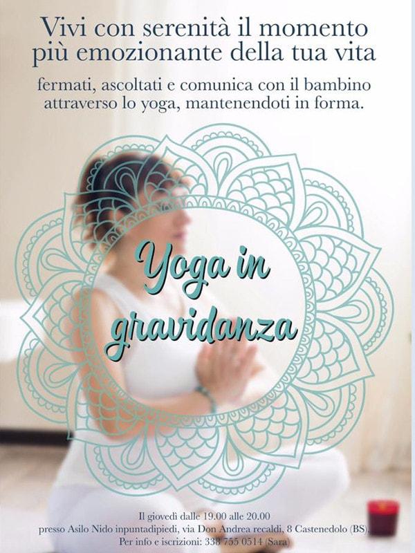 Yoga in gravidanza @ Asilo inpuntadipiedi | Lombardia | Italia