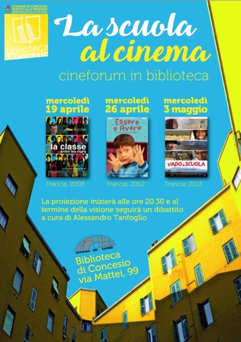 La scuola al cinema @ Biblioteca Concesio | Concesio | Lombardia | Italia