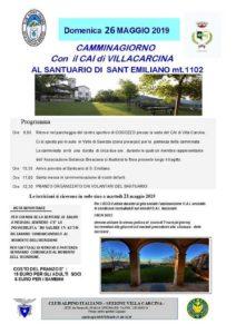 Cammina Giorno @ ritrovo sede CAI Villa Carcina | Villa Carcina | Lombardia | Italia