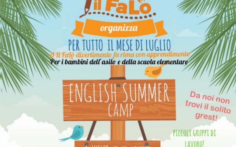 English summer Camp il Falò