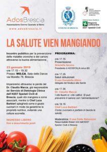 La salute vien mangiando @ Mo. Ca. | Brescia | Lombardia | Italia
