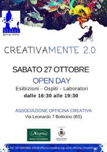 CreativaMente 2.0 - open day @ Officina Creativa Botticino | Botticino | Lombardia | Italia