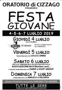 Festa Giovane @ oratorio Cizzago | Comezzano-Cizzago | Lombardia | Italia