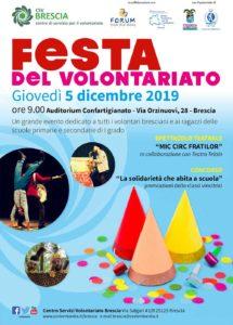 Festa del volontariato a Brescia @ auditorium di Confartigianato | Crone | Lombardia | Italia