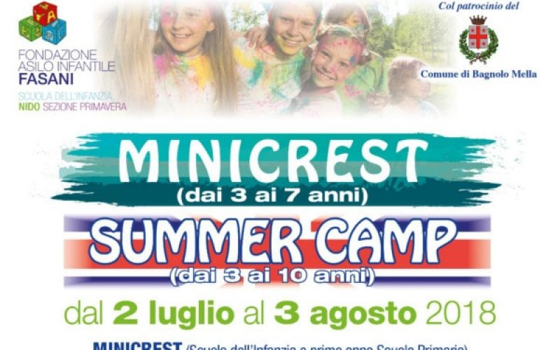 Minigrest e Summer Camp Fasani