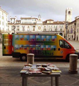 Bibliobus in tour @ parchi di Brescia | Brescia | Lombardia | Italia