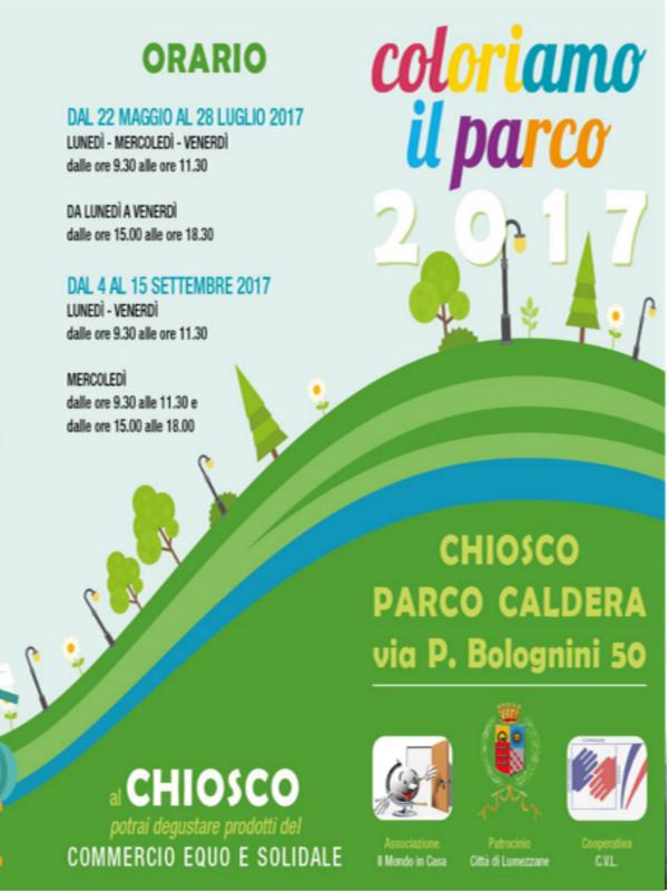 Coloriamo al parco @ Chiosco Parco Caldera | Lumezzane | Lombardia | Italia