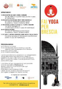 Fai yoga x Brescia @ Brescia | Brescia | Lombardia | Italia