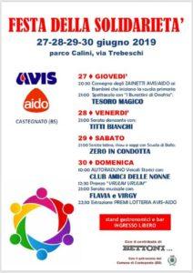 Festa della solidarietà @ parco Calini Castegnato | Castegnato | Lombardia | Italia