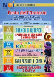 Festa dell'oratorio di  Padenghe @ Oratorio Padenghe | Padenghe Sul Garda | Lombardia | Italia