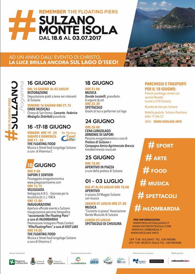 Remember The Floating Piers [Sulzano] @ Sulzano   Sulzano   Lombardia   Italia