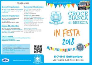 Croce Bianca in festa @ Cascina Maggia Brescia   Brescia   Lombardia   Italia