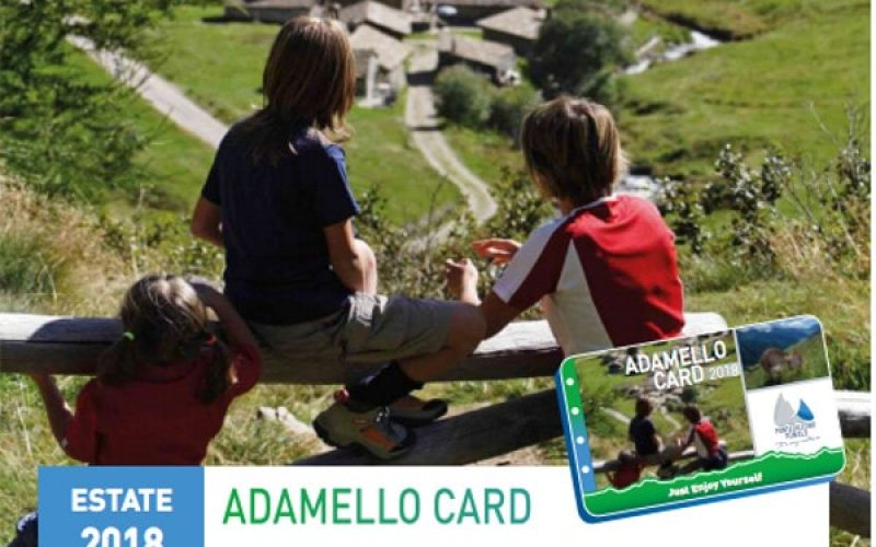 Passo del Tonale con Adamello Card