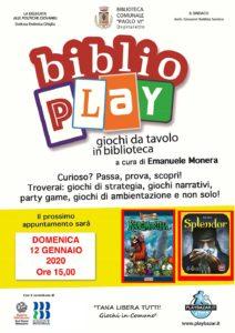 Biblio play a Ospitaletto @ Biblioteca Ospitaletto   Ospitaletto   Lombardia   Italia