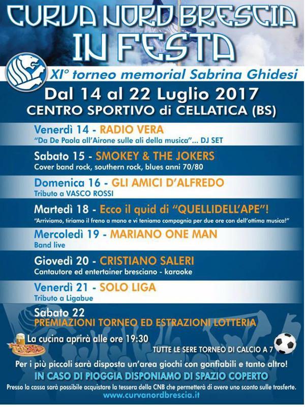 Curva nord in festa @ Centro sportivo Cellatica | Cellatica | Lombardia | Italia