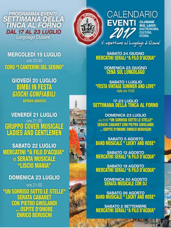 Eventi sul Lungolago Clusane @ Lungolago Clusane | Iseo | Lombardia | Italia