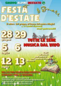 Festa d'Estate Gruppo Alpini Rezzato - FIABE NEL BOSCO @ Rifugio Aldo Vitali Rezzato | Rezzato | Lombardia | Italia