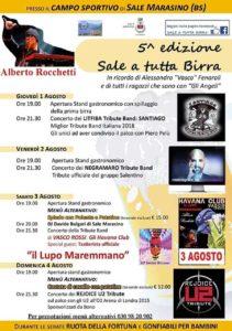 Sale a tutta Birra - Sale Marasino @ Sale Marasino - campo sportivo | Sale Marasino | Lombardia | Italia