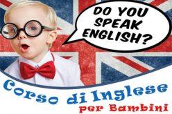 Corso inglese per bambini 3-9 anni
