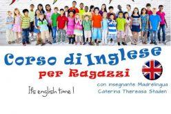 Corso inglese per ragazzi 9-18 anni