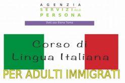 Corso di lingua italiana per adulti immigrati
