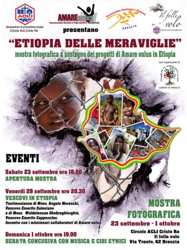 Etiopia delle meraviglie @ Il Folle Volo -  circolo Acli Cristo Re | Brescia | Lombardia | Italia