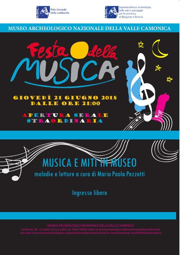 Musica e Miti in Museo @ Museo Nazionale Archeologico di Cividate Camuno | Cividate Camuno | Lombardia | Italia
