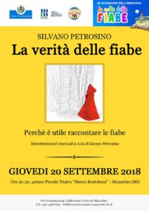 La Notte delle Fiabe - La verità delle fiabe @ Manerbio - Piccolo Teatro Bortolozzi | Manerbio | Lombardia | Italia